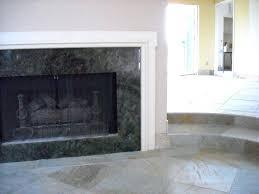 granite fireplace surround installation