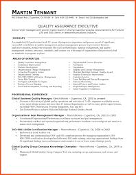 Sample Resume Software Quality Assurance Manager Inspirationa