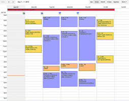 My Weekly Schedule Scheduling My Academic Life To The Very Minute My Weekly Template