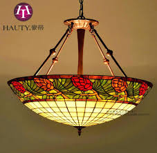 tiffany stained glass chandelier stained glass hanging light popular vintage