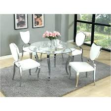 dining tables glass top dining table round room decoration pedestal base t imports furniture dinette