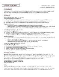 Resume Specialist Best It Specialist Resume Sample 60 Marvelous Design Ideas Information