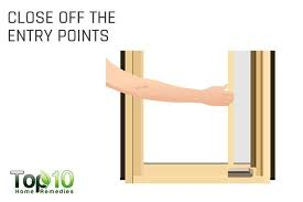 close off the entry points