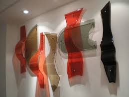 wall sculptures glass wall art fused
