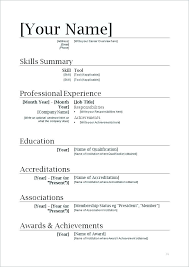 How To Make A Resume Free Simple how to download resume Simple Resume Template
