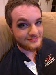 fotd my boyfriend let me put makeup on him after a hard day at work