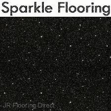 black granite effect sparkle vinyl flooring floor new