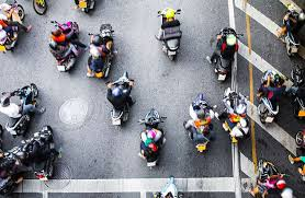 motorbikes and scooters in thailand