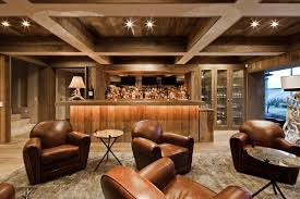 Decorations:Small Basement Idea With Billiard Table And Wooden Floor Rustic  Small Basement Idea With