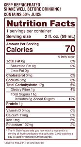 Booster Juice Nutrition Chart Tonics Jajja Wellness A Wellness Tonic With Ancient Origins