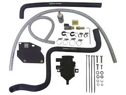 Catch Can Pro with Fitting Kit suitable for Hilux 3L Turbo Diesel D4D