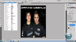 How To Make A Magazine Cover In Adobe Photoshop Cs5 Youtube