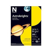 Amazon Com Astrobrights Color Paper 8 5 X 11 24 Lb 89 Gsm