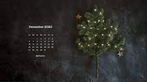 Free December 2020 Calendar Wallpapers ...