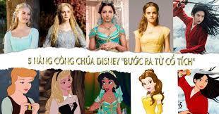 Những nàng công chúa Disney bước ra từ cổ tích với nhan sắc gây thương nhớ  - BlogAnChoi