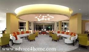 Appealing Ceiling Designs For Living Room With Rectangular Shape Pop Design In Room