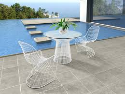 don't leave outdoor bistro set to create private outdoor — home