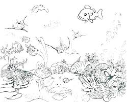 Ocean Coloring Pages Adults For Animals Printable Fascinating Luxury