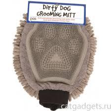 Купить <b>перчатка для груминга</b> Grooming Mitt, 25*18 см, серая в ...