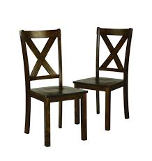 furniture kmart. essential home kendall dining chairs, set of 2 furniture kmart