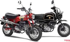 honda gorilla 125 and dax 125 based on