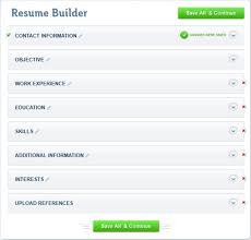 Resume Builder No Registration