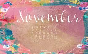 November Calendar Desktop Wallpapers ...