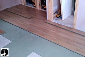 floor unique installing laminate wood floor how to install a tos diy from installing laminate