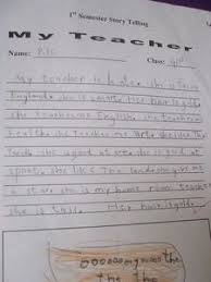 teacher respect day travel blog my teacher essay by pok aged 6