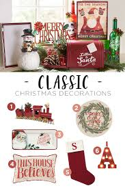 Christmas is the perfect time to get a little nostalgic. Our favorite  classic Christmas decorations