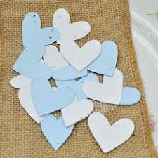 Biodegradable Paper With Flower Seeds Plantable Scatter Hearts Seed Paper