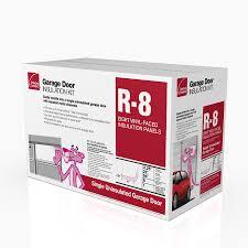 owens corning garage door insulation kit r 8 66 sq ft single faced fiberglass