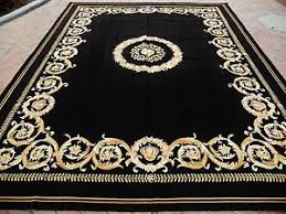 black and gold rugs ebay