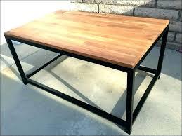 butcher block desk table coffee ideas butche