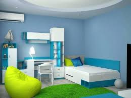 teal and white bedroom small stylish blue for boys with green rug neon walls furniture best
