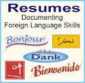 Languages spoken resume