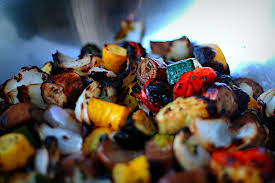 Image result for images of assorted roasted vegetables