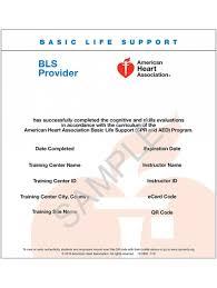 aha ive ecard bls provider