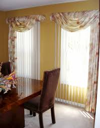 vertical blinds with valance ideas. Beautiful With Swags Over Vertical Blinds  Soften Up Those Vertical Blinds  Susanu0027s  Designs Throughout With Valance Ideas I