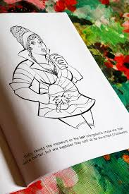 fat las in e coloring book