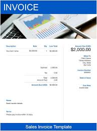 Sales Invoice Sales Invoice Template Free Download Send In Minutes