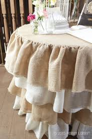 amazing round table skirts bedroom ruffled burlap skirt rustic elegant and girly all at the design