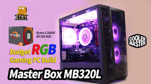 <b>Cooler Master MasterBox MB320L</b> mATX Case Build - AMD Ryzen 5 ...