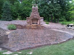 outdoor fireplace paver patio: outdoor fireplace and paver patio firerock fireplace and patio  outdoor fireplace and paver patio