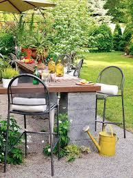 diy patio bar table. DIY-Outdoor-Bar-Station-17 Diy Patio Bar Table