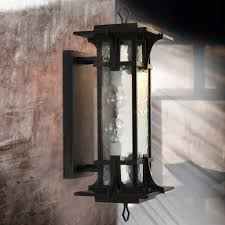 Black Cylinder Outdoor Wall Light Outdoor Wall Light A268 7 Black