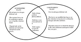 Parts Of A Venn Diagram Draw A Venn Diagram To Compare And Contrast Characteristics