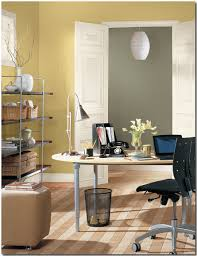 color schemes for office. Benjamin-Moore-Earthy-Yellow-Home-Office Color Schemes For Office O