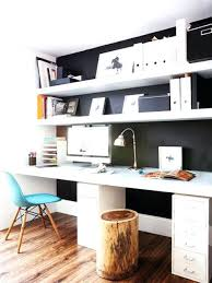 creative home office.  Creative Office Wall Storage Desk With Shelves Above Creative Home  Ideas For Plans 5 On Creative Home Office