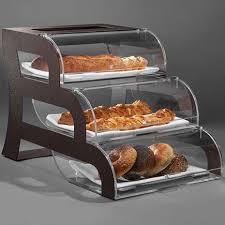 bakery case 3 tier bronze clear acrylic cases bronze frame 1 ea bk017